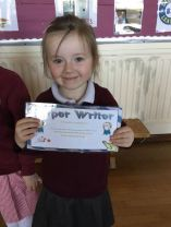 Woodlawn pupils have been working hard to become the new Star Writers. Each pupil has been continuing to develop their handwriting and presentation. T