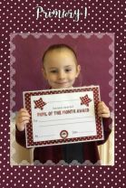 Outstanding October Pupils of the Month