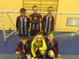 Woodlawn retain indoor 5 aside football tournament