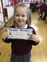 Star writers of the month!