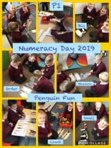 P1 Fun on Numeracy Day.